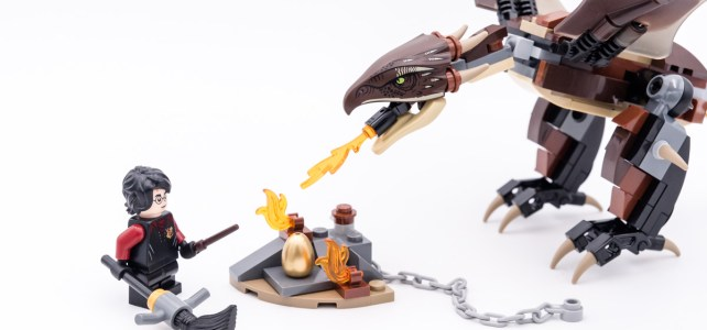 REVIEW LEGO Harry Potter 75946 Hungarian Horntail