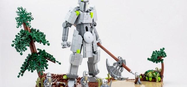 Golem LEGO Castle