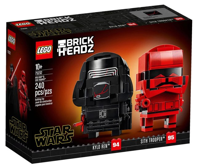 LEGO BrickHeadz 75232 Kylo Ren and Sith Trooper
