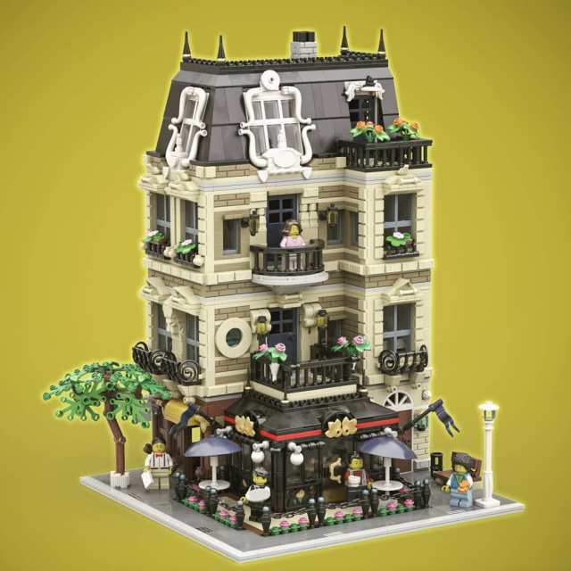 LEGO Modular café