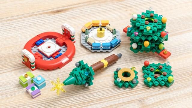 REVIEW LEGO 40338 Christmas Tree