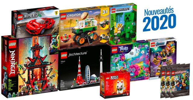 LEGO 2020 janvier