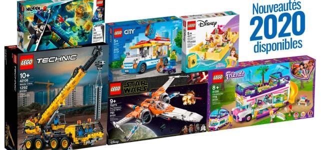 Nouveautés LEGO 2020 disponibles