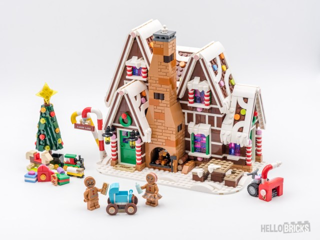 REVIEW LEGO 10267 Gingerbread House