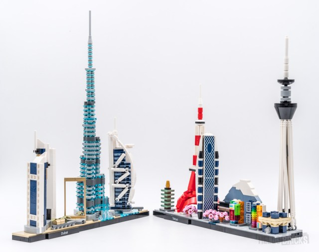 REVIEW LEGO Architecture 21052 Dubai Skyline