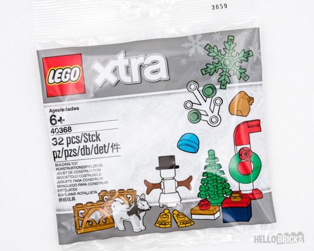 REVIEW LEGO XTRA 40368 Christmas