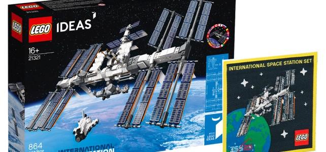 ISS LEGO Ideas 21321 International Space Station