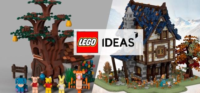 LEGO Ideas : les prochains sets officiels seront Winnie l'Ourson et le Medieval Blacksmith !