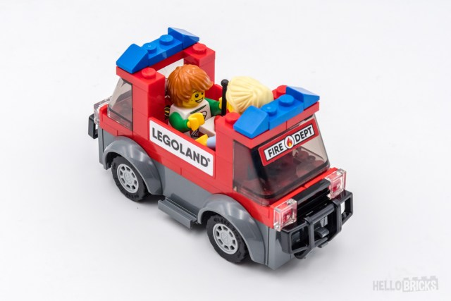 REVIEW LEGO 40393 LEGOLAND Fire Academy