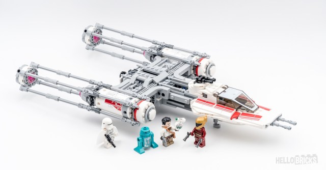 REVIEW LEGO 75249 Resistance Y-Wing Starfighter