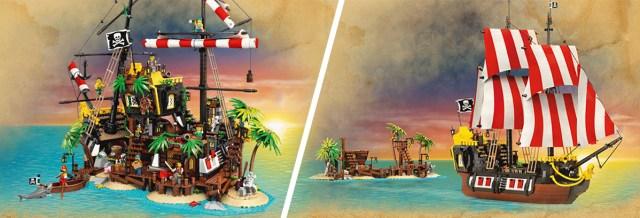 LEGO 21322 Ideas Pirates