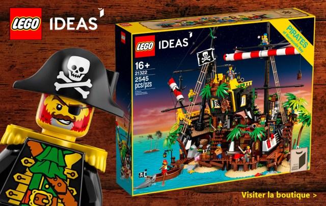 LEGO 21322 Pirates of Barracuda Bay Ideas 2020
