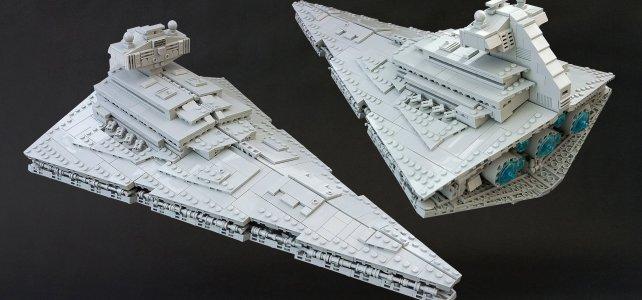 LEGO Star Wars Imperial Star Destroyer midiscale