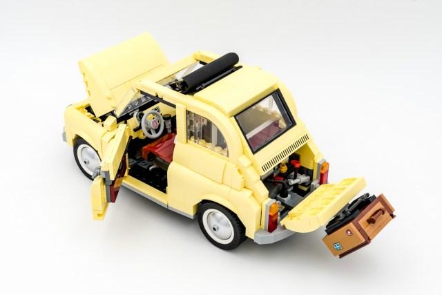 REVIEW LEGO Creator Expert 10271 Fiat 500