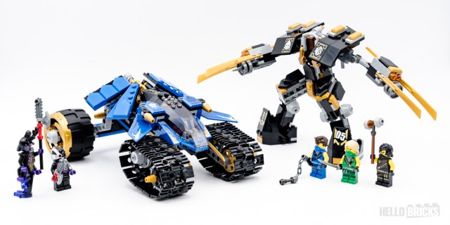 REVIEW LEGO Ninjago 71699 Thunder Raider