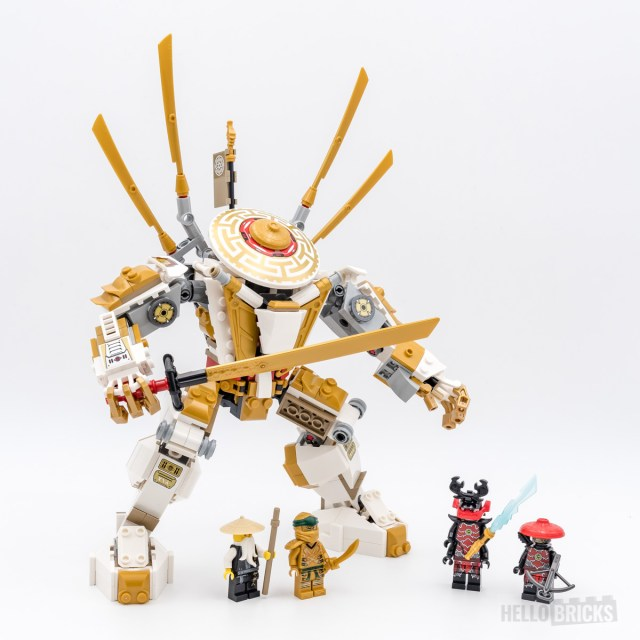 REVIEW LEGO Ninjago 71702 Golden Mech