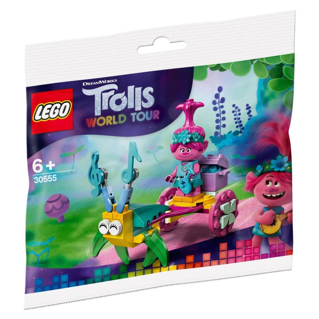 Polybag LEGO 30555 LEGO Trolls 30555 Poppy's Carriage