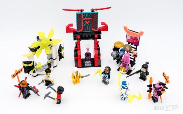 REVIEW LEGO Ninjago 71708 Gamer's Market