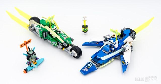 REVIEW LEGO Ninjago 71709 Velocity Racers