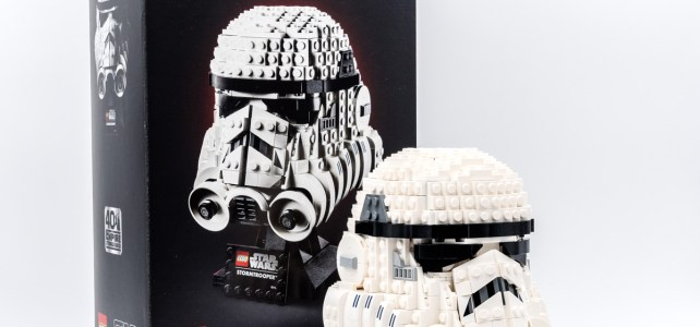 REVIEW LEGO Star Wars 75276 Stormtrooper Helmet