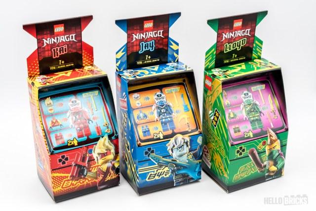 LEGO Ninjago Arcade Pods 71714 71715 71716