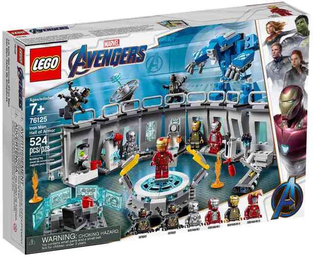 LEGO 76125 Iron Man Hall of Armor