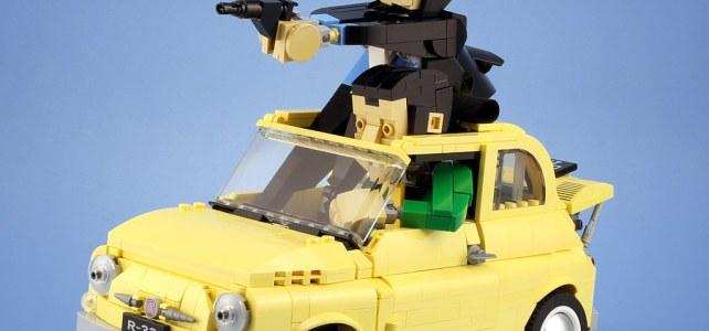 LEGO 10271 Fiat 500 Lupin III
