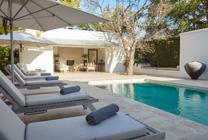 Luxury House Party accommodation package at Grande Provenc
