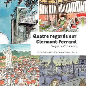 4 regards sur clermont-ferrand livre