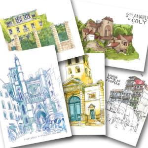 cartes postales clermont ferrand