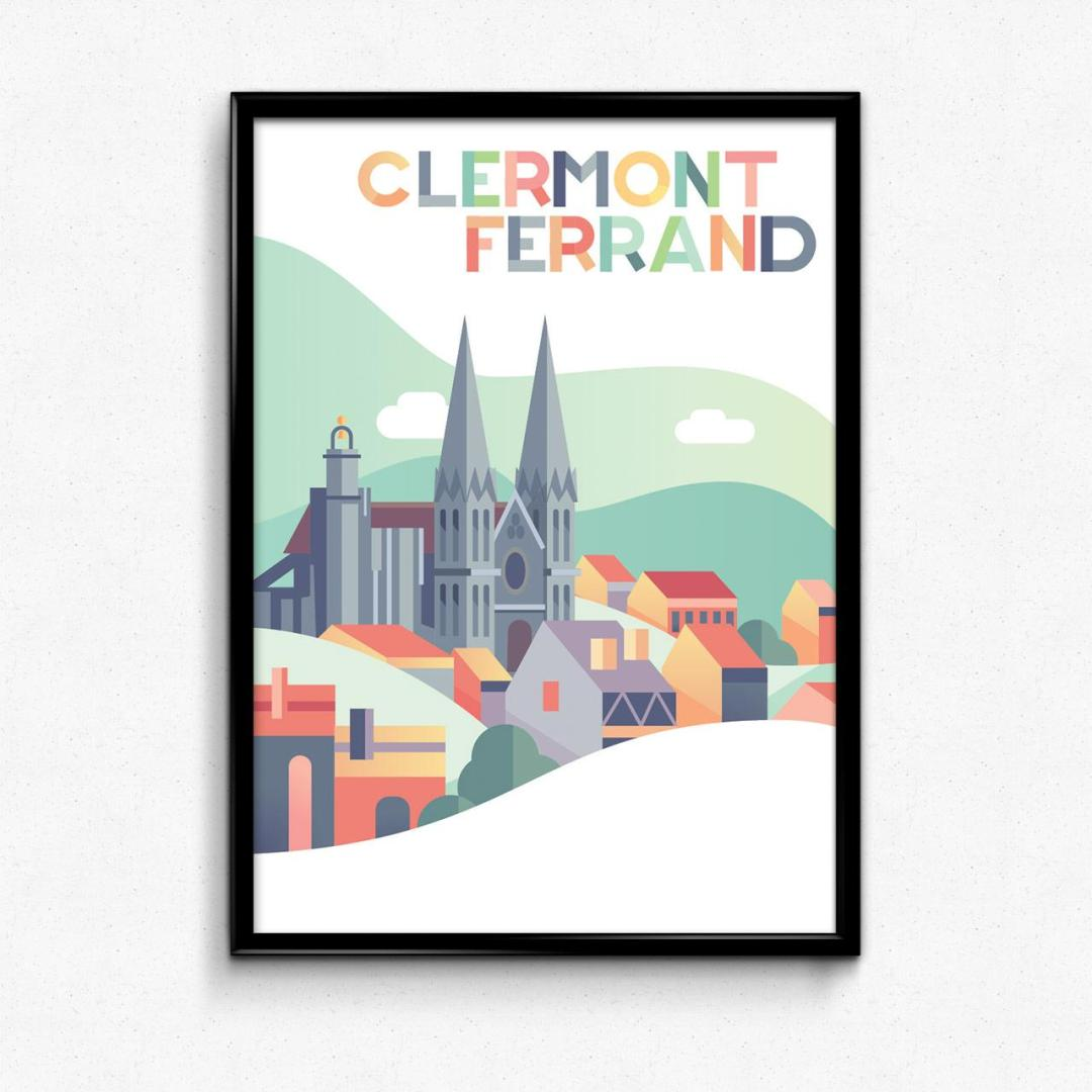 poster clermont-ferrand