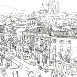 visuel sur les toits de clermont-ferrand