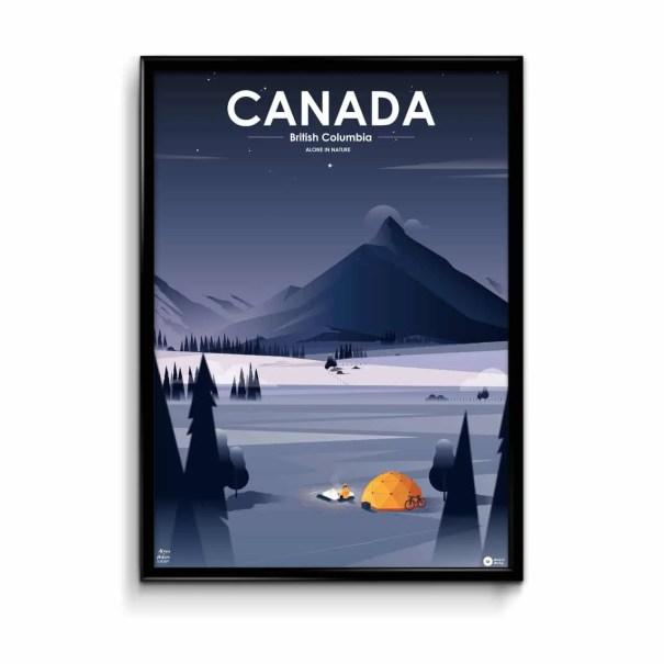illustration affiche canada