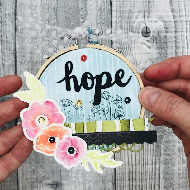 Craft Day in a Box Hoop Art