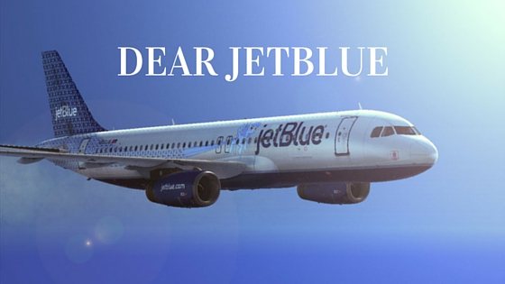 Dear jetBlue, We need to talk.