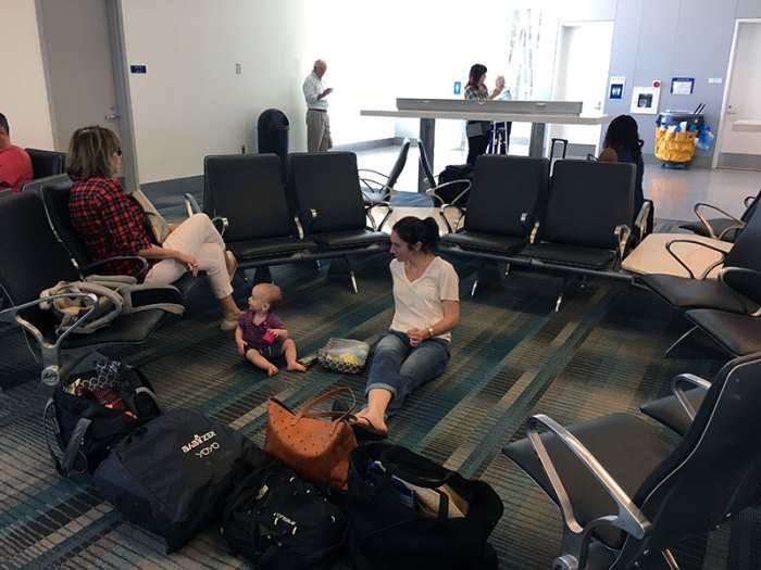number 1 tip for traveling with an infant