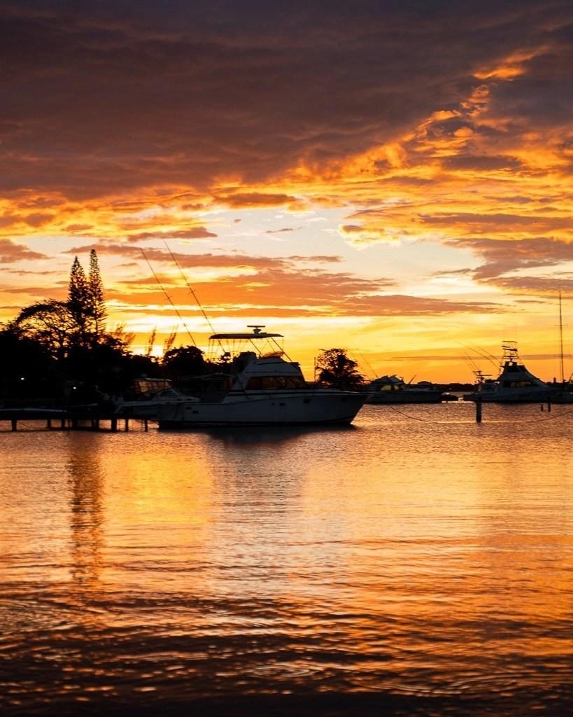 jamaica sunset luminous lagoon