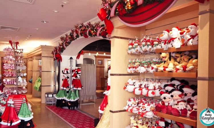 Où acheter des décorations de noel à Disneyland Paris