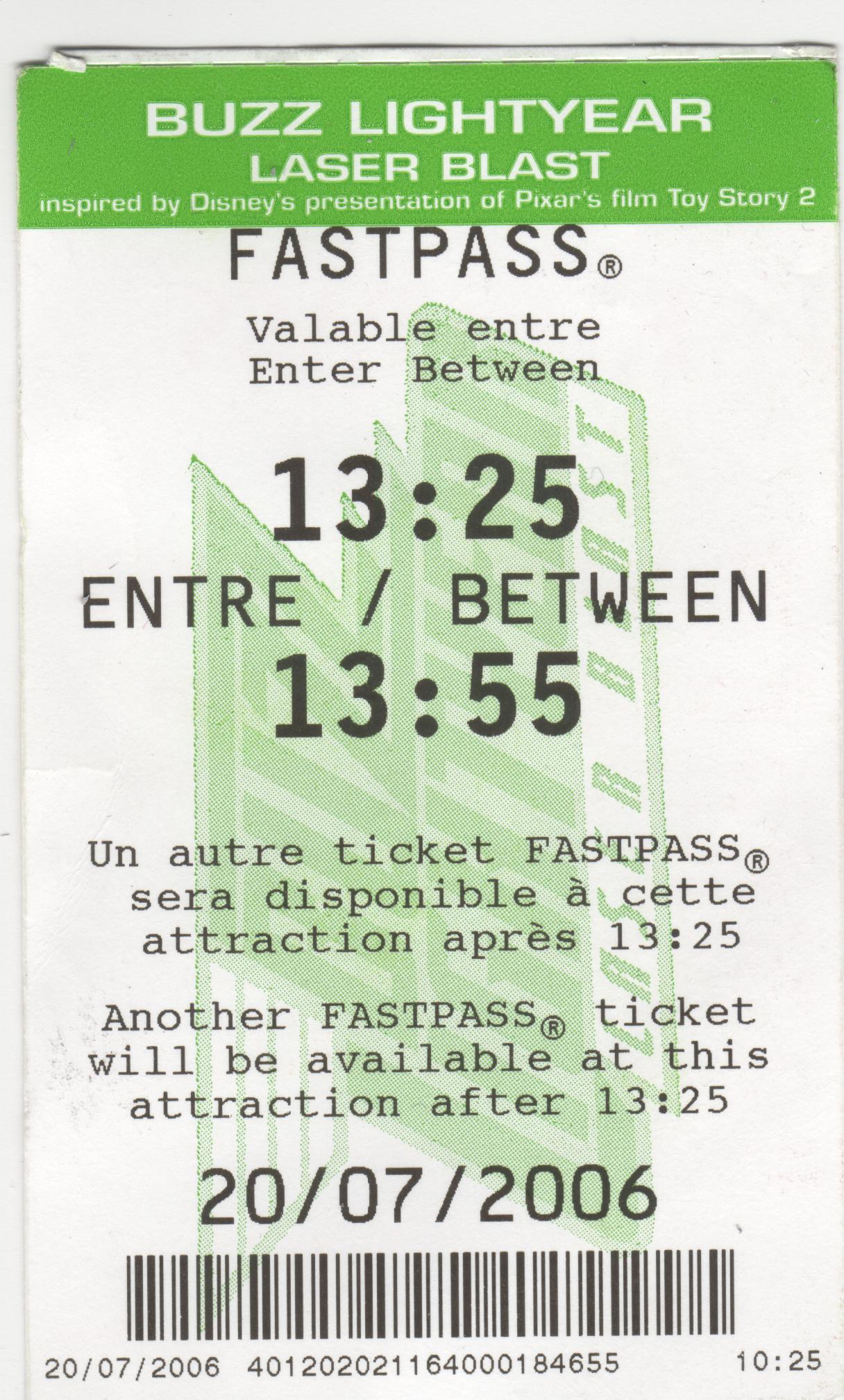 Calendrier Pass Disney.Fastpass Accedez Plus Rapidement A Vos Attractions
