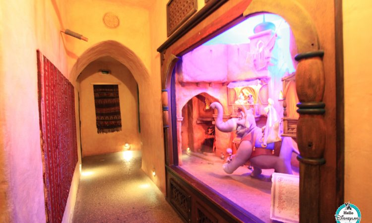 Passage enchanté d'Aladdin