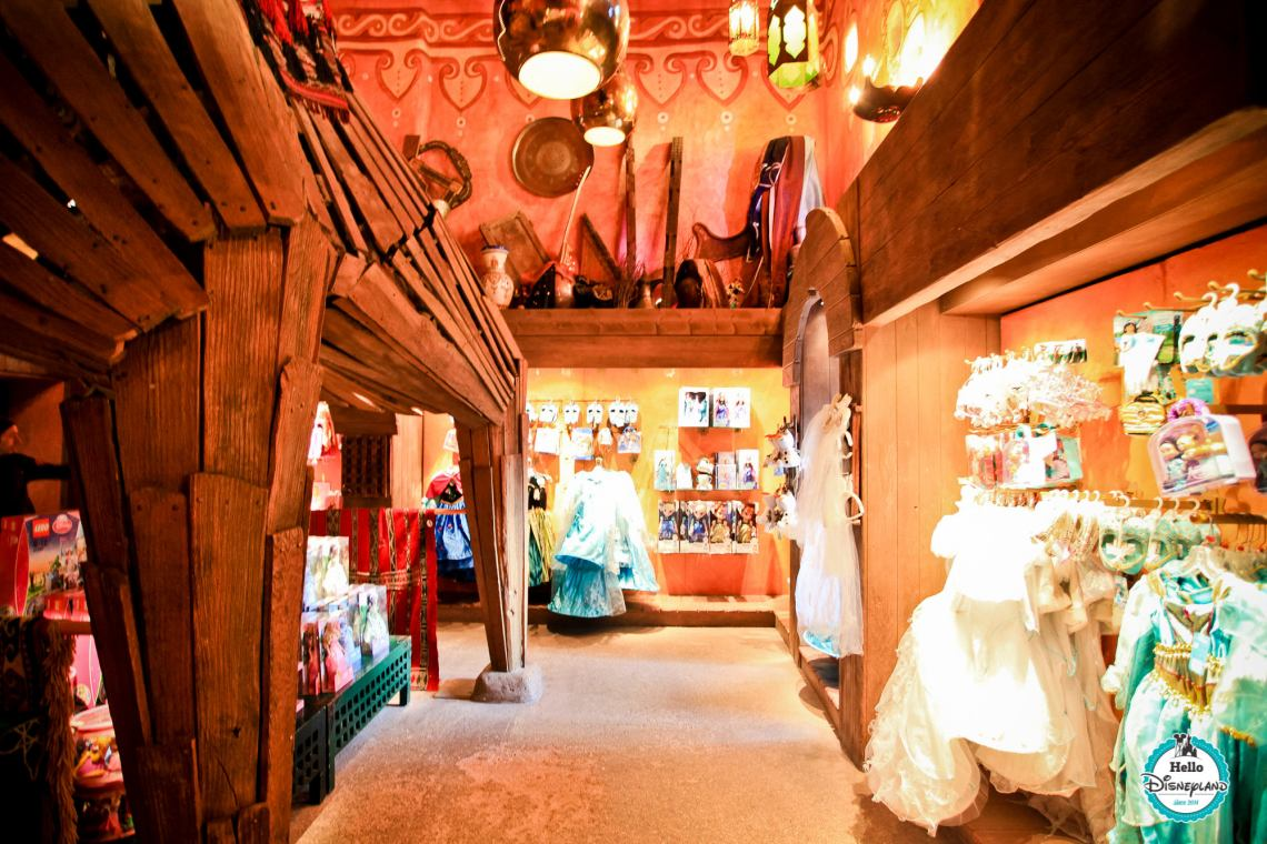Les Trésors de Schéhérazade boutiques Disneyland Paris