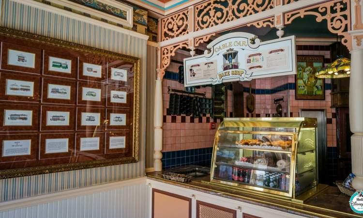 Cable Car Bake Shop - Disneyland Paris