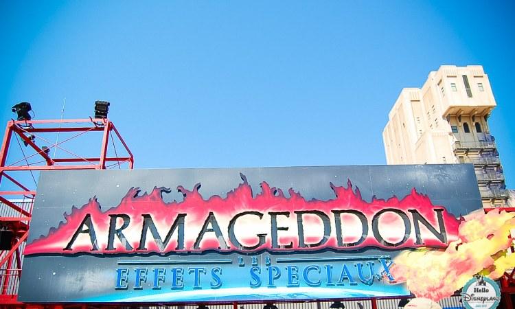 Armageddon Disneyland Paris