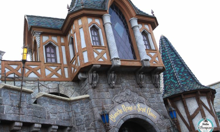 attraction Blanche Neige Disneyland Paris
