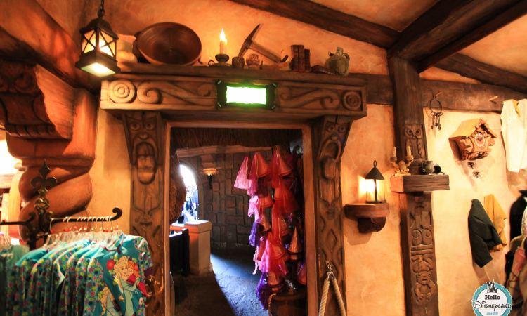 Chaumiere des Sept Nains - Boutique Blanche Neige Disneyland Paris