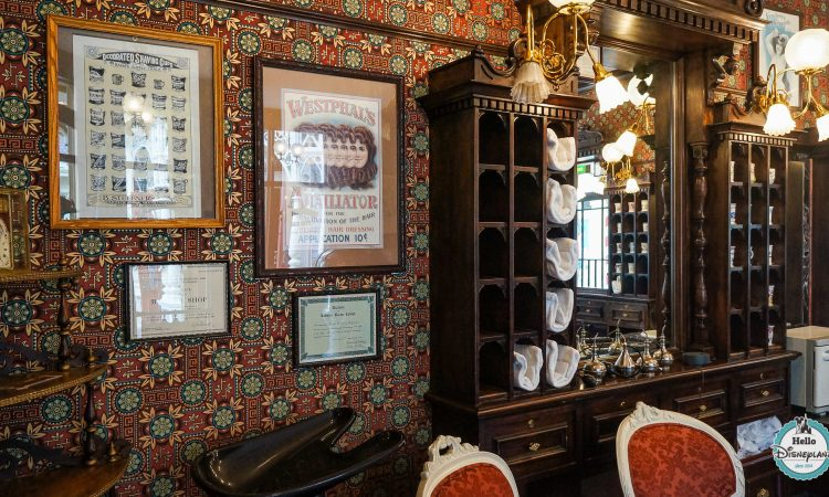 Dapper Dan's Hair Cuts Coiffeur Disneyland Paris
