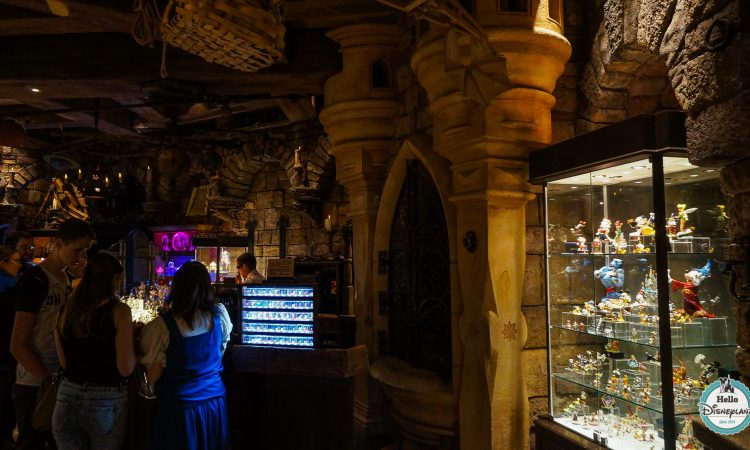Merlin l'Enchanteur Boutique Disneyland