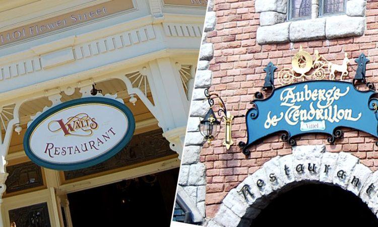 comment réserver son restaurant à Disneyland Paris