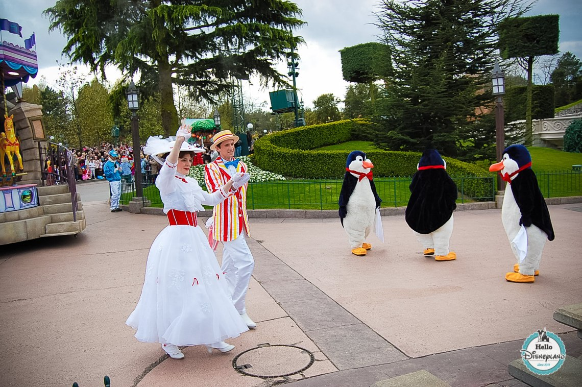 Disney Once Upon a Dream Parade - Disneyland Paris -13