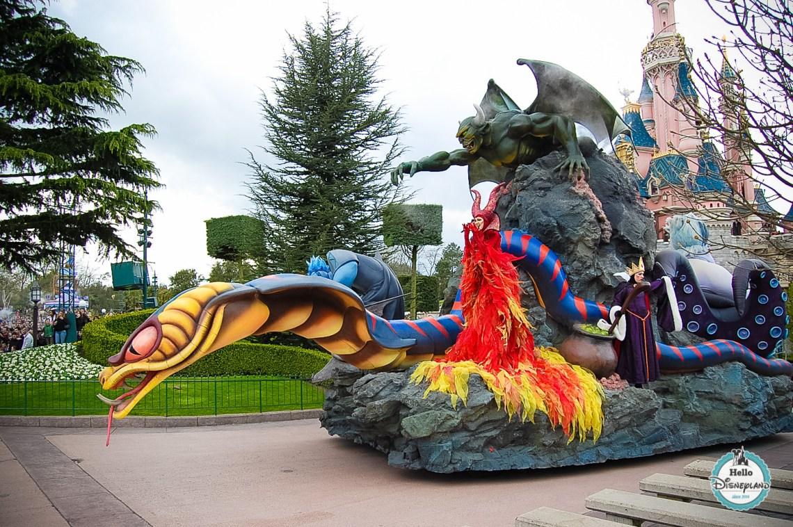 Disney Once Upon a Dream Parade - Disneyland Paris -17